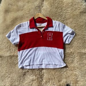 NEW Hollister Cropped Polo